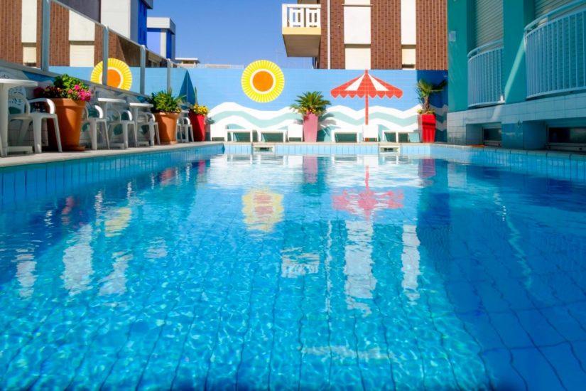 Hotel miramare a bibione soggiorni prezzi offerte e - Hotel bibione con piscina ...