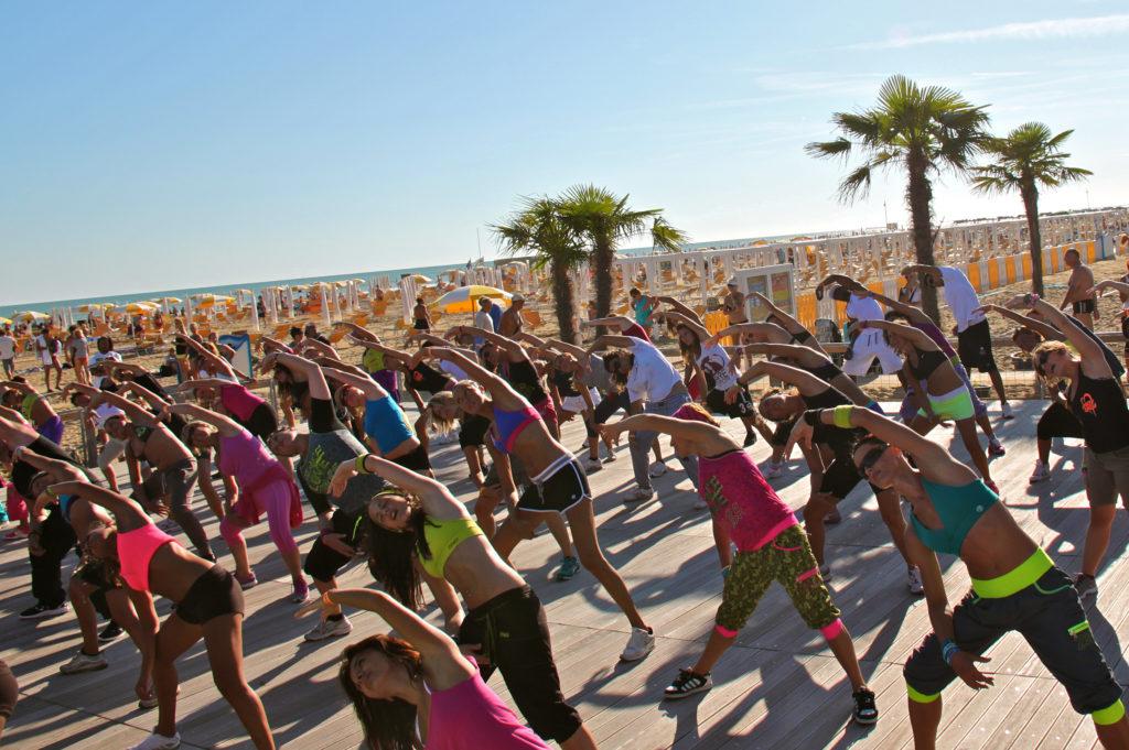 Zumba a Bibione Beach Fitness