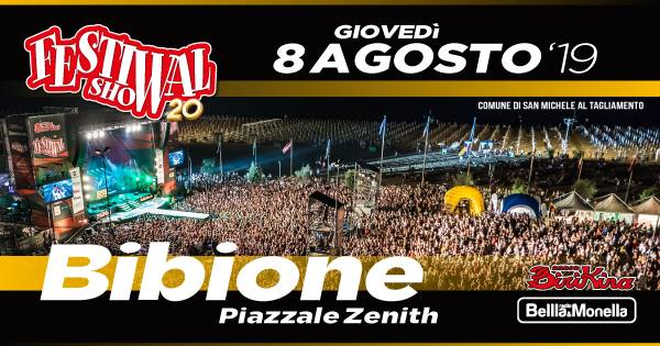 Festival Show 2019 – Die Musik des Sommers in Bibione thumbnail