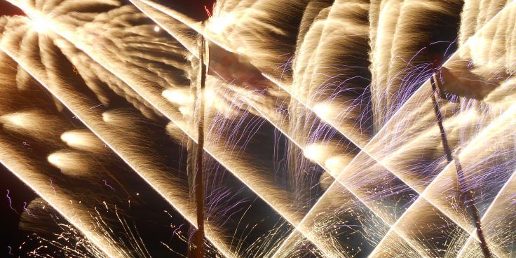 Bibione, fireworks throughout the summer thumbnail