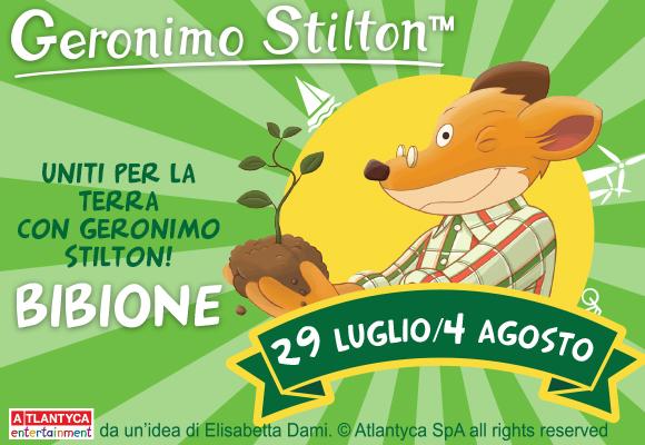Uniti per la terra con Geronimo Stilton