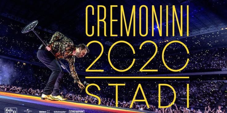 """Cesare Cremonini on tour – Il tour """"Stadi 2020"""" rinviato al 2021 thumbnail"""