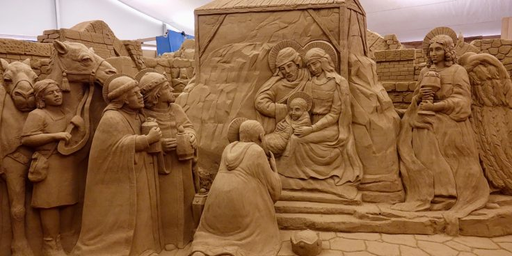 The Sand Nativity in Lignano Sabbiadoro 2019-2020 thumbnail