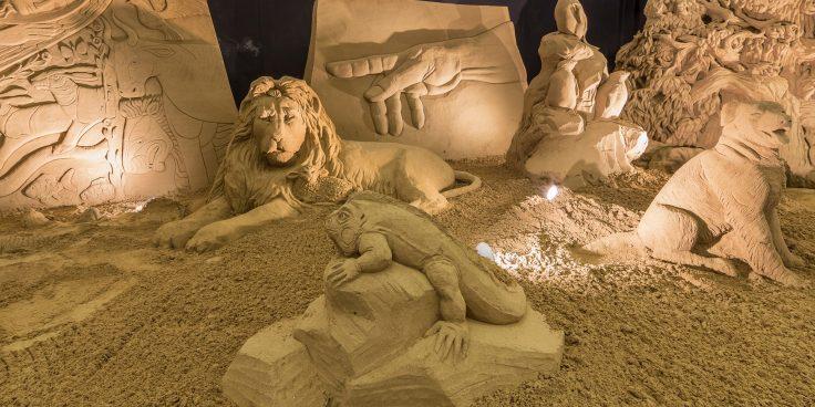 The Sand Nativity in Lignano Sabbiadoro thumbnail