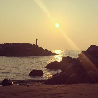 SpecialSunrise @elisascu #sunrise #bibione #visitbibione #happiness #friendship