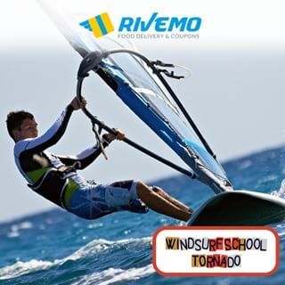Vuoi imparare a fare windsurf? 😉 Prenota la tua lezione a da @windsurfschooltornado, la migliore scuola di windsurf a Bibione. E con #Rivemo puoi avere un'offerta esclusiva sul corso promo di 2 ore. Scopri come nella sezione Coupons della nostra app. 😀 Seguici su Faceboo: rivemoapp ° Do you want to learn how to windsurf? 😉 Book your lesson in @windsurfschooltornado, the best windsurf school in Bibione. And with #Rivemo you can have an exclusive offer on the 2 hour promo course. Find out how in the Coupons section of our app. 😀 Follow us on Facebook: rivemoapp ° ° #rivemoapp #BibioneBeach #BibioneLido# #youorderwedeliver #fooddelivery #bibione #deliveryservice #beachmood #bibionebeach #bibione_info #bibionespiaggia #bibione2018 #startuplife #pizza #hamburger #summertimeshine #appetizer #grill #appstore #googleplay #visitbibione #discoverbibione #bibionecom #discoverbibione @bibionecom @bibioneeu @bibione_info