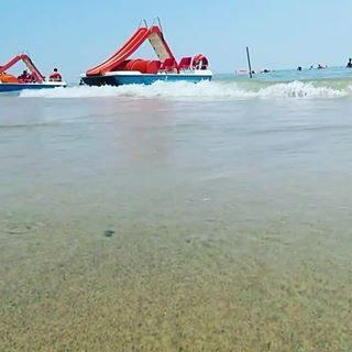 Il mare di Bibione... giretto in moscone??