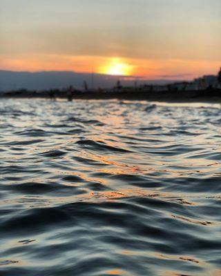 L'ora magica ☀️ ..................... #gallinepadovane #bibione #visitbibione #summer #beach #estate #goldenhour #veneto #mare #localblogger