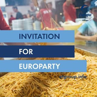 • An invitation for Euro Party reserved for our guests staying in Bibione • [ #ETGroupHolidays #DiscoverBibione #VisitVeneto #visitbibione #Bibione #venetissimo #spaghetti #spaghettiparty #summerday #summer2018 #italianholiday #italian_trips #italy #italia #foodies #europarty #bibionebeach ]