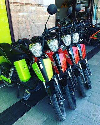 #ebike #scooter , rent it for 1hr only 10€ . #eurobikebibione #bibione #discoverbibione #visitbibione #visitveneto