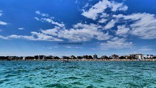 the beauty of the bibione coast !📷🌊 . . . #Bibione #bibionebeach #seascape #sea #landscape #blue #mare #Beach #sky #city #coast #clouds  #landscape_captures #view #ig_italia #photographer #nature #veneto #photography #igersveneto #volgoveneto #water #discoverbibione #visitbibione #venetogram #bibionecom #amazing #fotografoitaliano #igveneto #picoftheday
