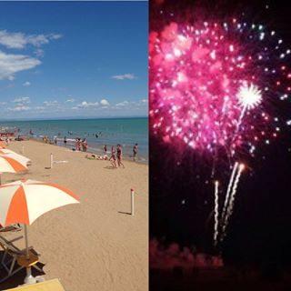 Siete tutti in spiaggia?  Bibione vi aspetta anche questa sera per i fuochi d'artificio! #visitbibione #bibione2017 #bibione #fuochidartificio #fireworks #feurwerk #estate2017 #vacanze #urlaub2017 #holiday  https://www.bibione.eu/eventi/spettacolo-pirotecnico/