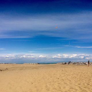 #aquilone #nuvole#cielo#sole #pasquetta#mare#spiaggia#blu  #sand#beach#natura#veneto #relax#monadepasqua#visitbibione