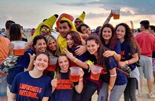 Un weekend pazzesco 🏐🍹 #bibionebeachvolleymarathon #bb1 #visitbibione #spritzavolontà #disagio #smileyface #happiness #sunshine #volley #beautiful #bestmoments #bananeChiquita